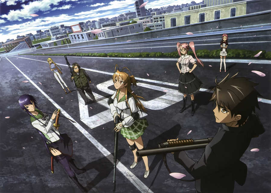 High-school Of The Dead