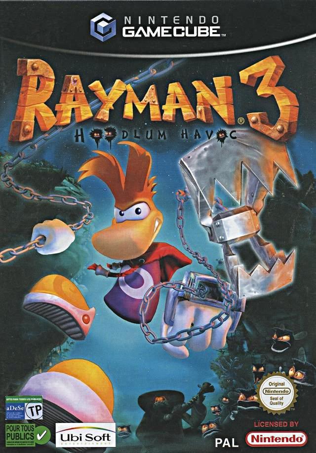 Jaquette de Rayman 3