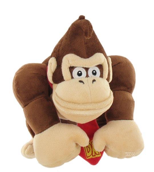 Peluche de Donkey Kong, 24 cm, licence officielle de Nintendo